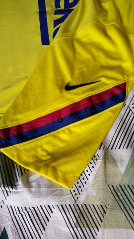 Camisa Oficial Treino Barcelona - Foto 4