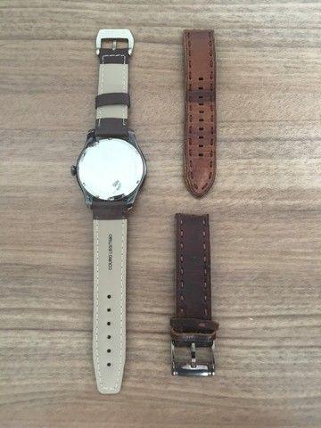 Relógio Fs4459 Men Watches: Brown Leather Strap - Fossil  - Foto 5