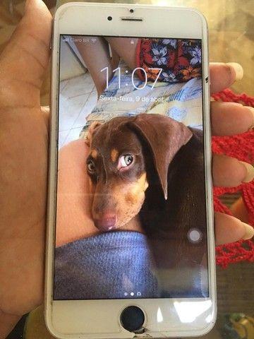 Vendo ou troco iPhone 6 Plus  - Foto 6