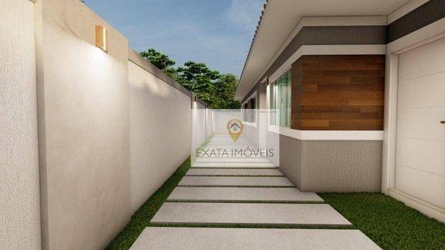 Lançamento! Casas lineares 3 quartos, com piscina/ varanda gourmet, Floresta das Gaivotas/ - Foto 4