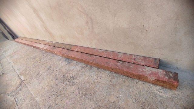 Coluna de ferro 5mt perfil 6,5x20 - Foto 2