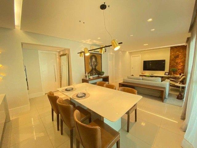 AB132 - Apartamento com 03 suítes/ vista lagoa/ fino acabamento - Foto 4