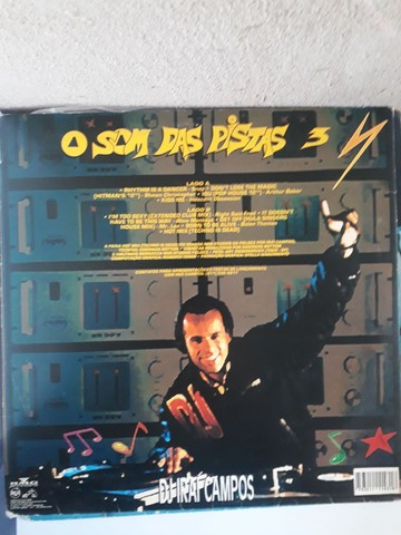 3 discos vinil Dj Irai Campos - Foto 4