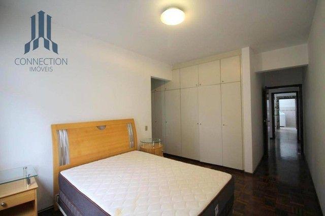 Apartamento com 3 dormitórios para alugar, 120 m² por R$ 2.000,00/mês - Centro Cívico - Cu - Foto 10