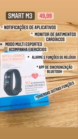 PROMOÇÃO RELÂMPAGO DE SMARTWATCHS M3 , M4 e M5 !!! - Foto 2