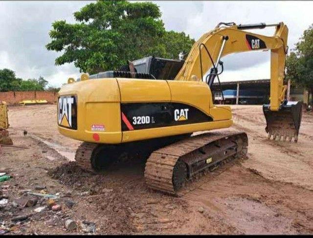 Escavadeira Hidráulica Catterpillar 320D  - Foto 3