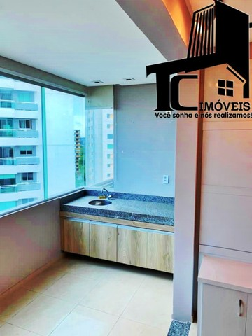 Vendo Apartamento The Sun/8 Andar/110m²/3 suítes Modulados Cortina de vidro na varanda - Foto 5