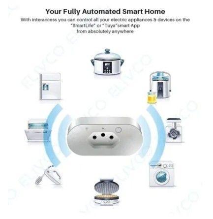 Tomada Inteligente Casa Automação Smart Liga Desliga Por Celular - Foto 2