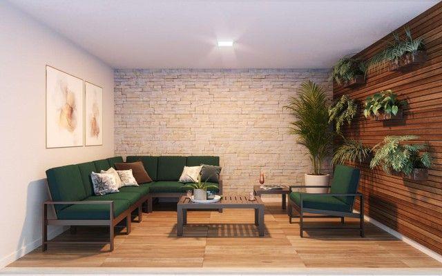 DF/ Apto com 2 qts + varanda gourmet + piso no porcelanato  - Foto 7