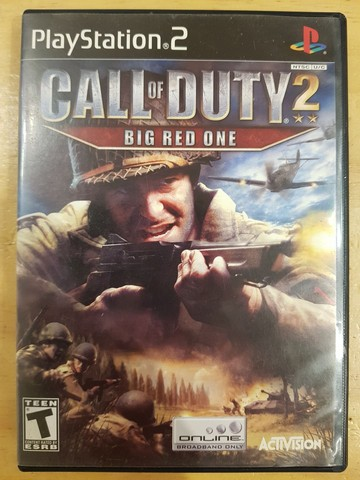 Call of duty 2 big red one play 2