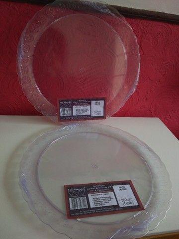 Prato Cristal 36cm - Foto 2