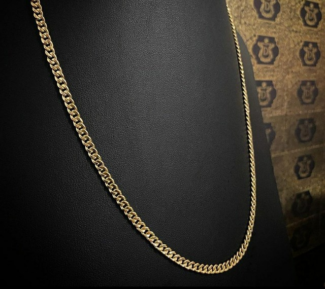 Cordões e correntinhas - piastrine ou cártier em ouro 18 quilates derretido. - Foto 6