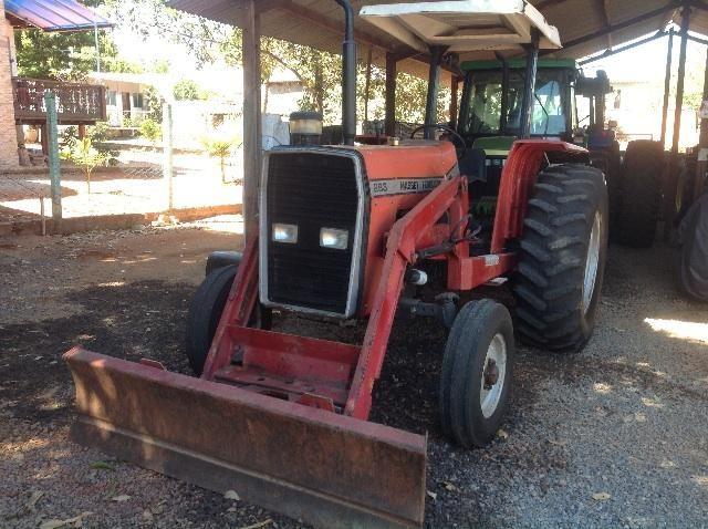 Trator Mf 283 4x2 com lamina e concha dianteira e ,nada a faze so trabalhar