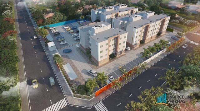 Apartamento residencial à venda, Barra Nova, Caucaia - AP2718.