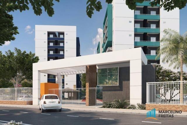 Apartamento residencial à venda, Centro, Eusébio.