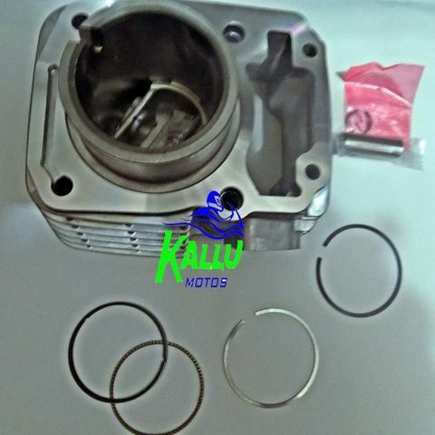 Kit cilindro moto burgman 125 modelo original completo promoção - Foto 2
