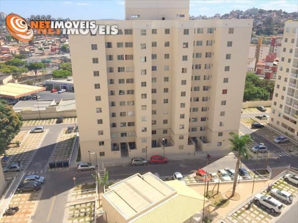 Apartamento à venda com 3 dormitórios em Cinquentenário, Belo horizonte cod:541611
