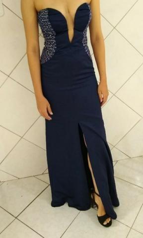 be70f8249fe8a Vestido de formatura azul marinho - Roupas e calçados - Jardim São ...