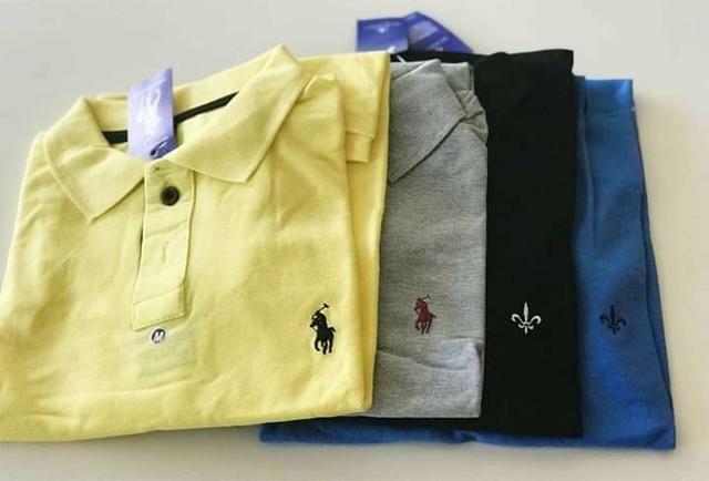 Camisa Polo Masculina Atacado - Foto 4