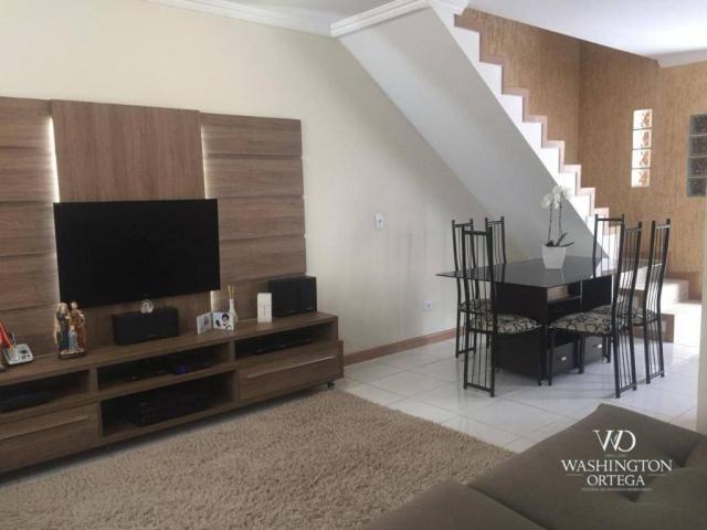 Sobrado à venda, 117 m² por r$ 460.000,00 - aristocrata - são josé dos pinhais/pr - Foto 5
