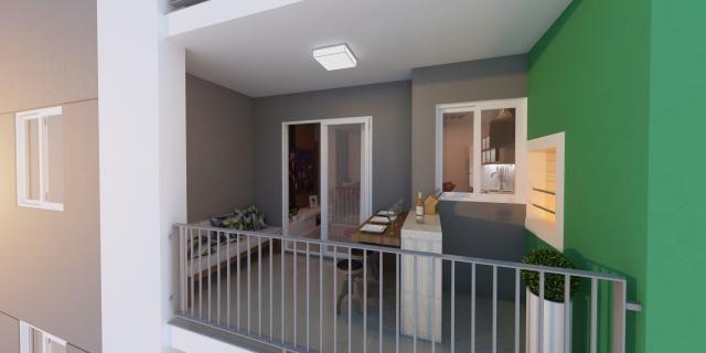 Lindo apartamento no santo antonio | 02 dormitórios | sacada com churrasqueira - Foto 12
