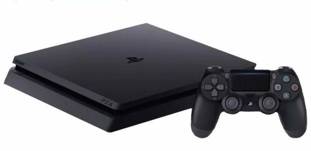 Playstation 4 Slim 1TB - Novo na caixa lacrado com garantia - Foto 3