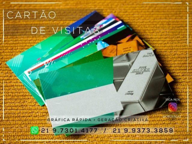 Cartão de Visita Prata