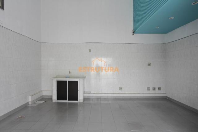 Salão para alugar, 30 m² por r$ 700,00/mês - centro - rio claro/sp