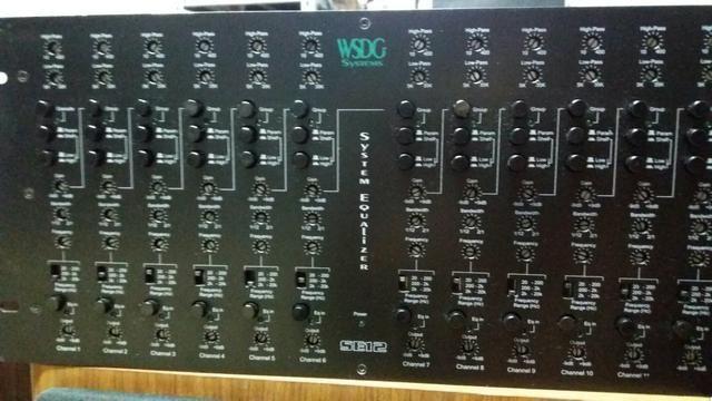 Equalizador de 12 canais parametrico profissional - Foto 2
