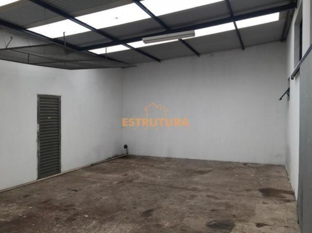 Barracão para alugar, 300 m² por r$ 2.500,00/mês - centro - ipeúna/sp - Foto 2