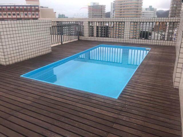 Apartamento para alugar com 4 dormitórios em Boqueirão, Praia grande cod:191 - Foto 10