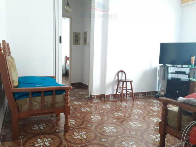 Apartamento para alugar com 1 dormitórios em Boqueirão, Praia grande cod:567