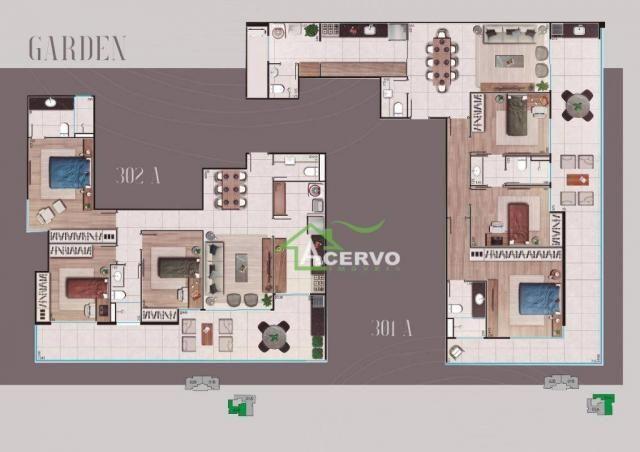Apartamento Garden com 3 dormitórios à venda por R$ 649.900 - Granbery - Juiz de Fora/MG - Foto 2