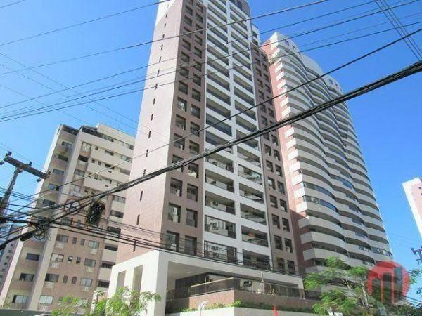 Apartamento com 3 dormitórios para alugar, 92 m² por R$ 2.100/mês - Papicu - Fortaleza/CE