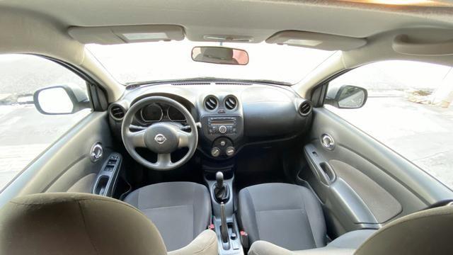'4.000 de entrada' Nissan Versa SL 1.6 - Foto 10