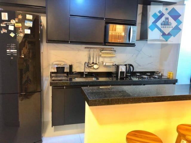 Apartamento com 3 dormitórios à venda, 127 m² por R$ 429.000 - Engenheiro Luciano Cavalcan - Foto 19