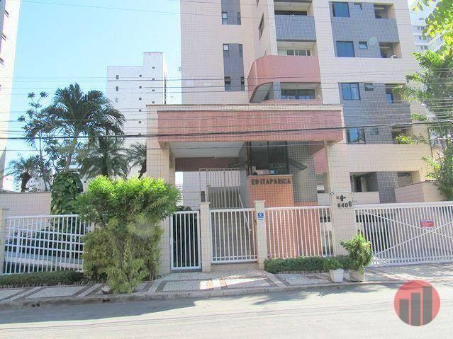 Apartamento com 2 dormitórios para alugar, 70 m² por R$ 1.300,00 - Meireles - Fortaleza/CE