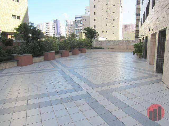 Apartamento com 2 dormitórios para alugar, 70 m² por R$ 1.300,00 - Meireles - Fortaleza/CE - Foto 4