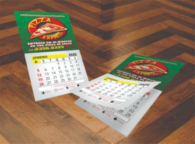 Exclusivo Calendários 2020 Personalizados Vários Modelos Aproveite e Peça Agora - Foto 6