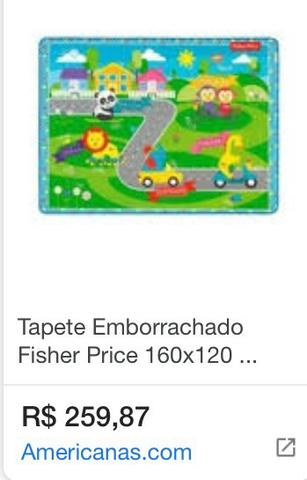 Tapete emborrachado Fisher Price - Foto 2