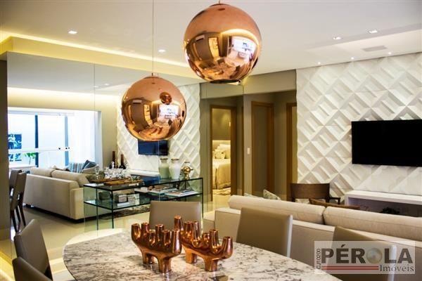 Apartamento  com 3 quartos no RESIDENCIAL ESSÊNCIA HOME CLUB - Bairro Jardim América em Go - Foto 4