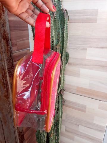 Bolsa de natal , transparente para você presentear quem você ama nesse fim de ano - Foto 3