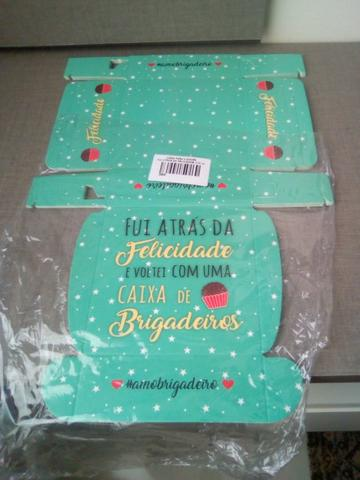 Vendo lote(190) caixas para doces - Foto 4