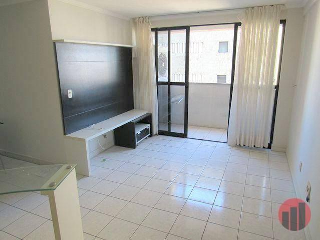 Apartamento com 2 dormitórios para alugar, 70 m² por R$ 1.300,00 - Meireles - Fortaleza/CE - Foto 8