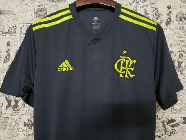 Camisa Flamengo Chumbo Oficial 2019 - Foto 2