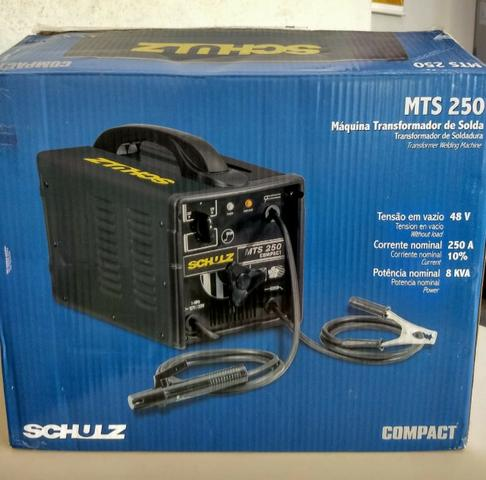Máquina de Solda 250A - 110/220v - Schulz - Foto 5