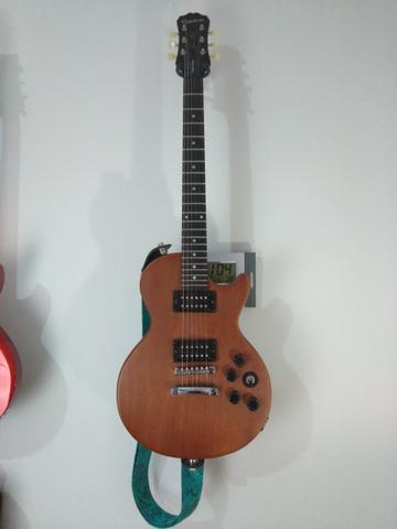 Guitarra Epiphone Walnut Vintage Ve Blindada, tarraxas klusson +upgrades - Foto 3