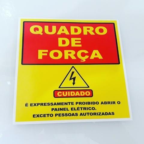 Placas de Sinalização e Informativas em PVC Com Qualidade É Aqui - Foto 2