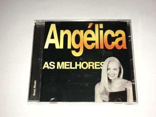 Cd Angélica - As Melhores - Vol. 2 - RARO