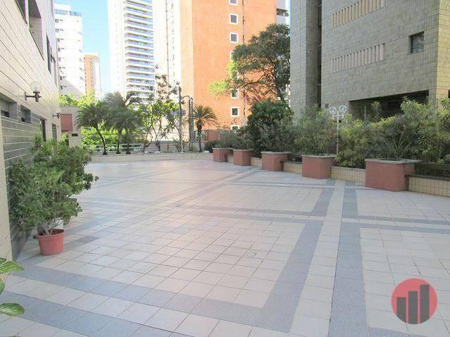 Apartamento com 2 dormitórios para alugar, 70 m² por R$ 1.300,00 - Meireles - Fortaleza/CE - Foto 5
